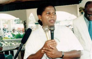 1997: Au centre d'accueil Kimbanguiste, Kinshasa