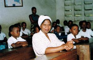 2008: En classe à Mamiyo, Kinshasa