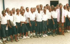 Janvier 2009: Visite à l'école primaire EP6 Lemba Sud à Kinshasa