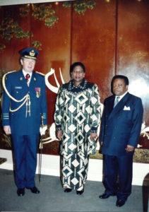 Janvier 1998: Ambassade de RDC à Bruxelles