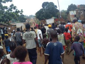 2011-Sensibilisation au village de Seka Mbote a Boma